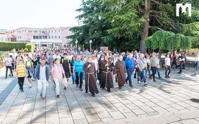默主哥耶和平遊行: 聖母顯現39週年前夕及聖若翰洗者誕辰 (2020年6月24日)