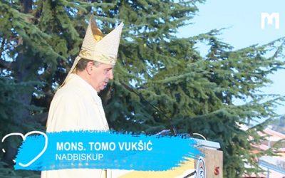 总主教 Tomo Vukšić 的讲道