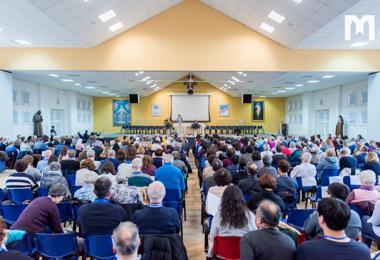 第27屆國際靈修退省,特別為朝聖主辦單位、和平中心領導人,以及默主哥耶祈禱和慈善團體領導人