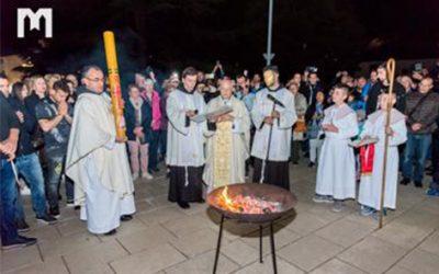 默主哥耶的聖週和復活節祈禱時間表