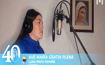音樂: Ave Maria Gratia Plena