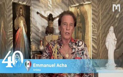 見證: Emmanuel & Alexander Acha,父子,墨西哥著名的藝術家,歌手和音樂家,談默主哥耶的經歷 (2021年5月29日)