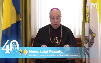 教廷大使總主教Luigi Perzzuto,薩拉熱窩的波斯尼亞及黑塞哥維那  (2021年5月29日)