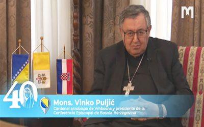 Vinko Puljic樞機主教,教理: 「你們可憑他們的果實辨別他們」 (瑪 7:16) (2021年5月30日)