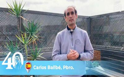 Carlos Ballbé 神父,曾放棄參加北京奧運會,後來晉陞為神父 (2021年5月30日)