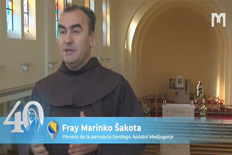 Marinko Šakota 神父,方濟會士,簡短回顧聖母顯現初期的經歷 (2021年5月30日)
