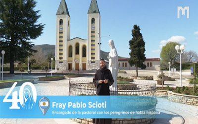 Pablo Scioti 神父,方濟會士,負責西班牙語國家的牧靈工作 (2021年5月30日)