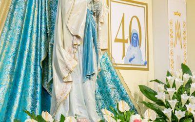 照片: 聖母顯現40週年 (2021年6月25日)