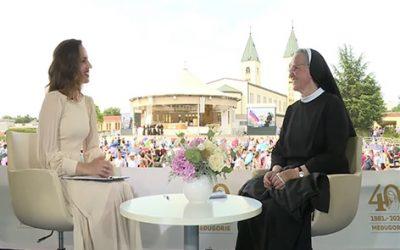 梅蓮娜修女的訪問 (2021年6月25日)